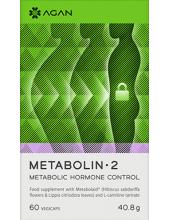 AGAN Metabolin-2, Metabolic Hormone Control, 60 Veg.Caps