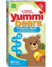 HERO YUMMI BEARS Complete Multi-Vitamin 90 gummy bears