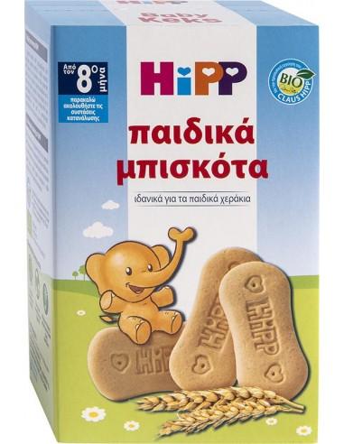 HIPP ΠΑΙΔΙΚΑ Βιολογικά Μπισκότα από τον 8ο Μήνα 150gr