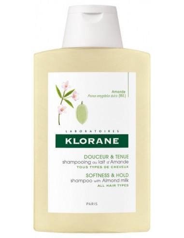 KLORANE Shampoo with Almond Milk (Lait d'Amande) 400ml