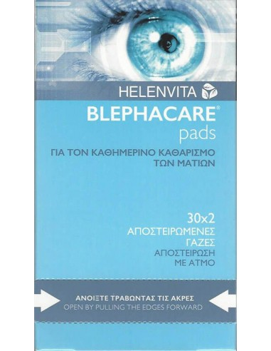 HELENVITA BlephaCare Duo 30 x 2 pads