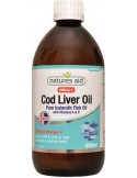 NATURES AID Cod Liver Oil (High Strength) 1000mg 90 Softgels
