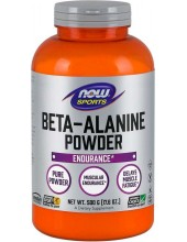 NOW SPORTS Beta-Alanine 100% Pure Powder 500g