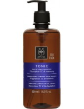 APIVITA MEN'S TONIC Shampoo Hippophae TC & Rosemary 500ml