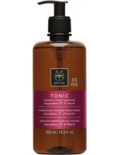 APIVITA WOMEN'S TONIC Shampoo Hippophae TC & Laurel 500ml