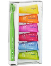 CURAPROX Be You Six Tastes 6 x 10ml + CS 5460 Ultra Soft Green 1pc
