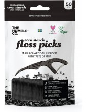 THE HUMBLE Co. Floss Picks - Mint 50pcs