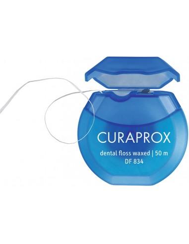 CURAPROX DF 834 PTFE Dental Floss Waxed 50m