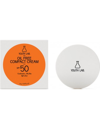 YOUTH LAB Oil Free Compact Cream SPF 50 (light colour) Combination-Oily Skin 10gr
