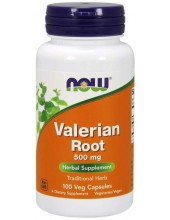 NOW Valerian Root 500mg, 100 Veg.Caps