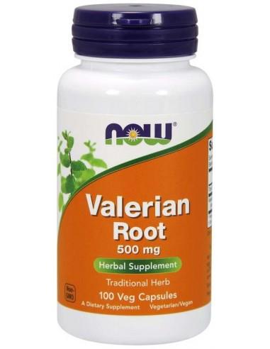NOW Valerian Root 500mg, 100 Veg.Caps