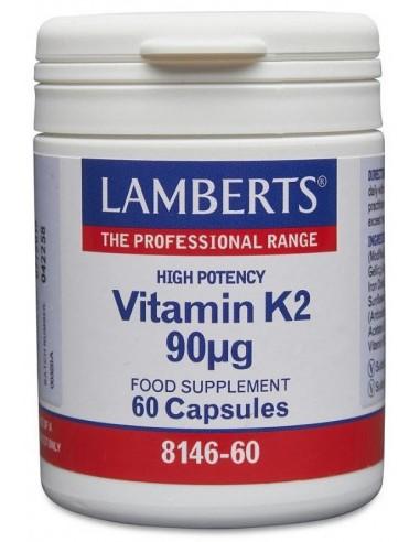 LAMBERTS Vitamin K2 90mcg, 60 Caps