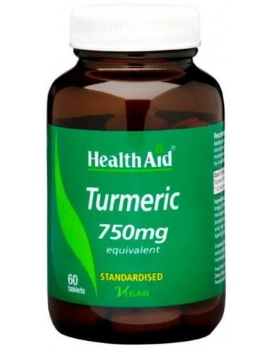 HEALTH AID Turmeric 750mg 60 tabs