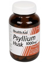 HEALTH AID Psyllium Husk 1000mg 60 Vegan Caps