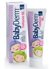 INTERMED BabyDerm Toothpaste 1000 ppm, Bubble-gum flavour 50ml