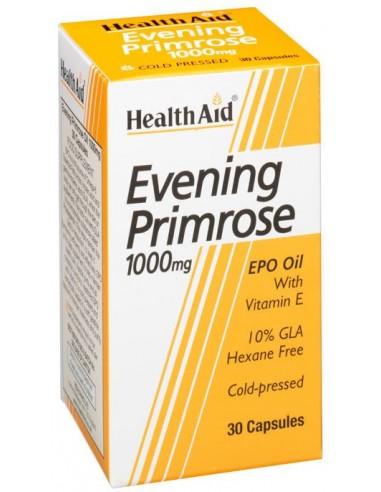 HEALTH AID Evening Primrose 1000mg 30 caps