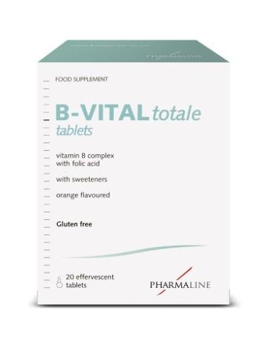 PHARMALINE B-Vital Totale Complex 20 eff. tabs