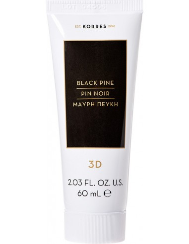 KORRES Black Pine 3D Gel Sculpting Firming & Lifting Neck & Decollte Tensing gel 60ml