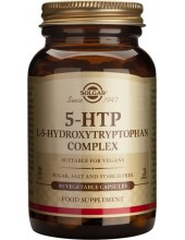 SOLGAR 5-HTP (HydroxyTryptoP.) 100mg Veg.Caps 90s