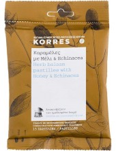 KORRES Herb Balsam Pastilles with Honey & Echinacea 15 Pastilles