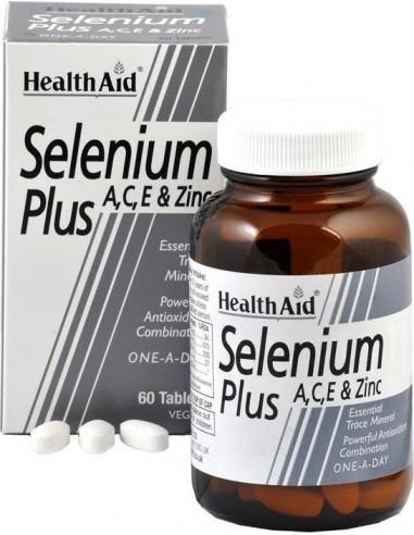 HΕΑΛΤΗ AID Selenium with Zinc, Copper & Vitamins A, C & E, 60 tabs