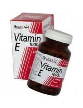 HEALTH AID Vitamin E 1000iu, 30 caps