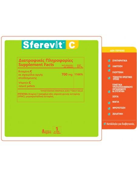HOLISTIC MED Sferevit C 30 Veg. Caps