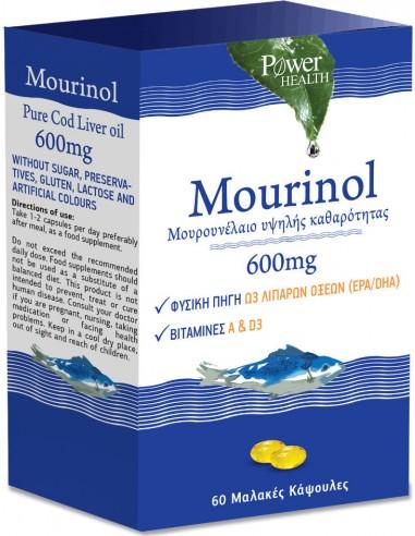 POWER HEALTH Mourinol 600mg 60 Soft Caps