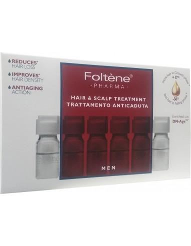 FOLTENE HAIR & SCALP TREATMENT FOR MEN 100ml (ampoules 12 x 8,3ml)