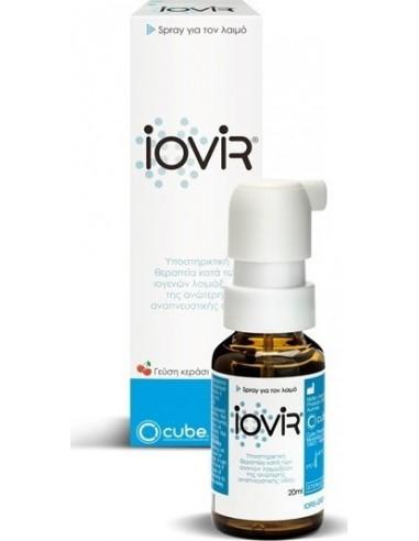 CUBE Iovir Throat Spray Cherry Flavour 20ml