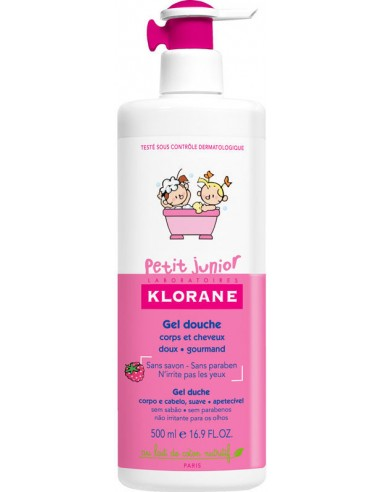 KLORANE Petit Junior Gel Douche Βατόμουρο 500ml