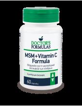 DOCTOR'S FORMULAS MSM + Vitamin C Formula, 60 Caps