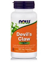NOW Devil's Claw for Joint Health, 100 Veg.Caps