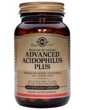 SOLGAR Advanced Acidophilus Plus Veg.Caps 60