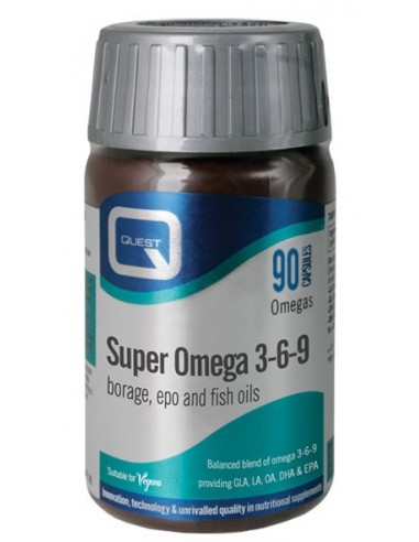 QUEST Super Omega 3 & 6 & 9 30 Caps