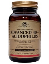 SOLGAR Advanced 40+ Acidophilus Veg.Caps 60