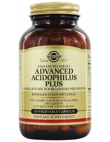 SOLGAR Advanced Acidophilus Plus Veg.Caps 120