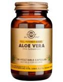SOLGAR Aloe Vera  Veg.Caps 100s