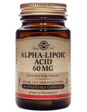 SOLGAR Alpha Lipoic Acid  60mg Veg.Caps 30s