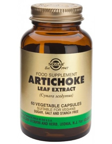 SOLGAR Artichoke Leaf Extract Veg.Caps 60s