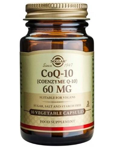 SOLGAR Coenzyme Q-10 60mg Veg.Caps 30s
