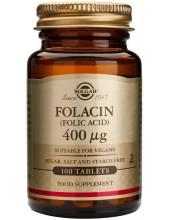 SOLGAR Folic Acid 400μg tabs 100s