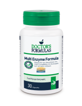 DOCTOR'S FORMULAS multi enzyme formula 60 veg. Caps