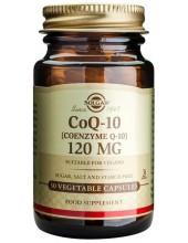 SOLGAR Coenzyme Q-10 120mg Veg.Caps 30s