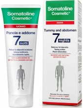 SOMATOLINE Man Tummy & Abdomen Intensive Night Treatment  7 Nights για Κοιλιά-Μέση 250 ml