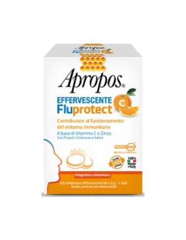 Apropos FluProtect Vitamin C & Zinc, 20 Effervescent Tabs