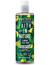FAITH IN NATURE Shampoo Tea Tree & Lemon Anti-Dandruff 400ml