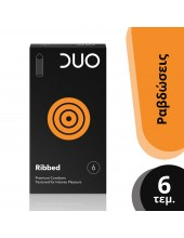 DUO Ribbed 6 pcs