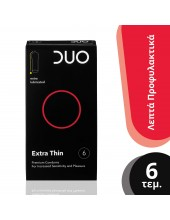 DUO Extra Thin Extra 6 pcs