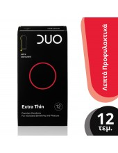 DUO Extra Thin Extra Lubricated 12 pcs